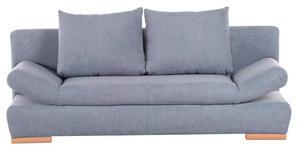 SCHLAFSOFA Flachgewebe Hellblau  - Naturfarben/Hellblau, KONVENTIONELL, Holz/Textil (200/75/92cm) - Xora