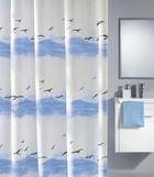 KOPALNIŠKA ZAVESA SEASIDE - modra, Konvencionalno, tekstil (180/200cm) - Kleine Wolke