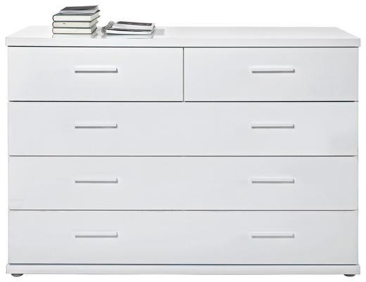 KOMMODE Weiß - Weiß, Design, Kunststoff (125,4/84,3/42cm) - Voleo