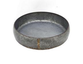 PLANTERINGSSKÅL - grå/guldfärgad, Basics, metall (45/11cm) - Ambia Home
