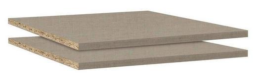 EINLEGEBODENSET 2-teilig Beige - Beige, Design (43/1,6/45cm) - Carryhome