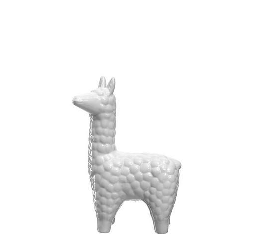 DEKOTIER - Weiß, Basics, Keramik (20cm) - Leonardo