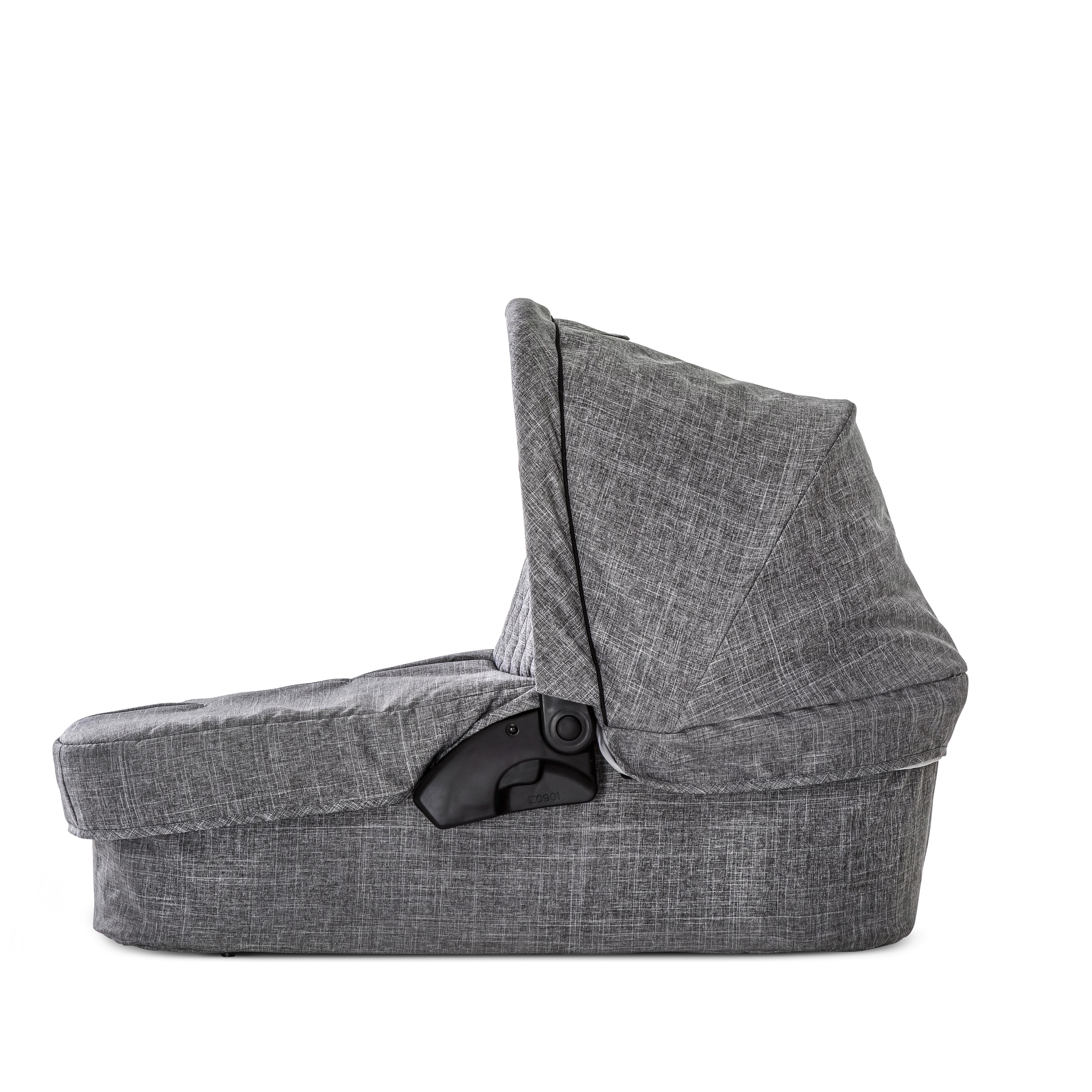 DEČJA KOLICA - SET - Crna/Siva, Konvencionalno, Tekstil/Metal (101/94/55cm) - Hauck