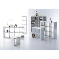 ELEMENT REGALA - bijela, Design, drvni materijal (112/112/38cm)