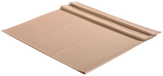 TISCHDECKE Textil Hellbraun 135/220 cm - Hellbraun, Basics, Textil (135/220cm)