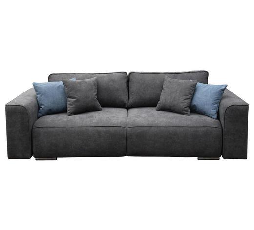 TROSJED SOFA - siva/boje nikla, Moderno, tekstil (100/255cm) - Hom`in