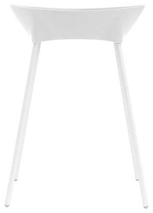 Luma Badewannenständer - Weiß, Basics, Kunststoff/Metall (62/25/84cm)