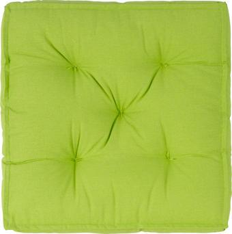 SEDÁK - zelená, Basics, textil (40/40/10cm) - Boxxx