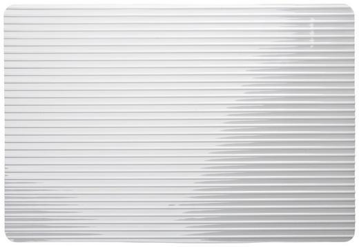 TISCHSET - Klar/Weiß, Basics, Kunststoff (46/30/1cm) - Ritzenhoff