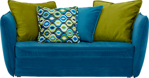 Schlafsofa Blau schlafsofa in blau grün textil kaufen xxxlutz