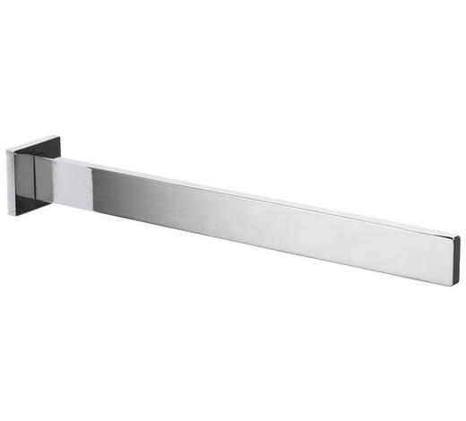 HANDTUCHHALTER 4,5/4,5/32,5 cm - Chromfarben, KONVENTIONELL, Metall (4,5/4,5/32,5cm) - Sadena