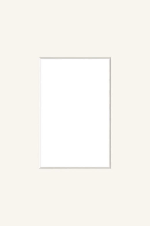 PASSEPARTOUT  Creme - Creme, Papier (13/18cm)