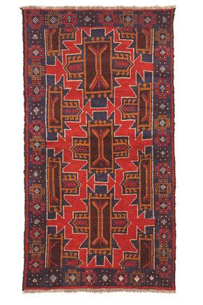 ORIENTALISK MATTA - röd, Lifestyle, textil (95/135cm) - Esposa