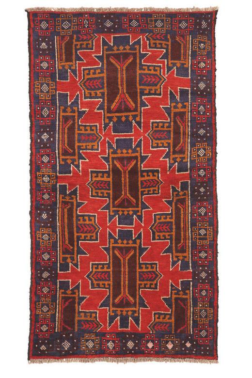 ORIENTMATTA - multicolor, Klassisk, ytterligare naturmaterial (100/200cm) - Esposa