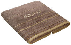 SAUNATUCH - Taupe, KONVENTIONELL, Textil (70/200cm) - Esposa