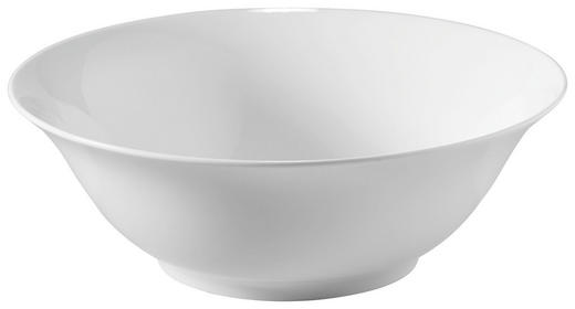 SALATSCHÜSSEL Bone China - Weiß, Basics (18cm) - Novel
