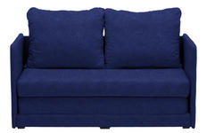JUGEND- UND KINDERSOFA in Textil Blau  - Blau, MODERN, Textil (116/69/64cm) - Carryhome