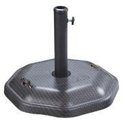 STOJAN NA SLUNEČNÍK - barvy stříbra/černá, Design, kov/kámen (50/38cm) - Xora