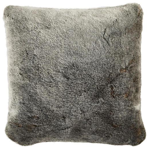 KISSENHÜLLE Anthrazit 48/48 cm - Anthrazit, Design, Textil (48/48cm) - Ambiente