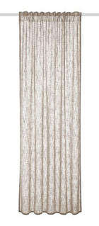ZAVJESA S OMČAMA - natur boje, Konvencionalno, tekstil (135/245cm) - Esposa