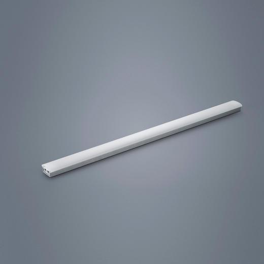 LED-DECKENLEUCHTE - Nickelfarben, Basics, Metall (60cm)