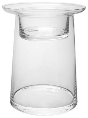 LJUSSTAKE - klar, Basics, glas (16,5/20cm) - Ambia Home