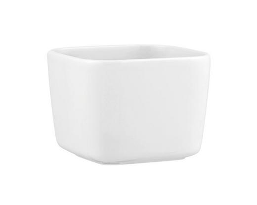 SCHALE Keramik Porzellan - Weiß, Basics, Keramik (11/11/8cm) - Seltmann Weiden