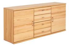 SIDEBOARD 171/76,2/40,4 cm  - Silberfarben/Buchefarben, KONVENTIONELL, Holz/Holzwerkstoff (171/76,2/40,4cm) - Cantus