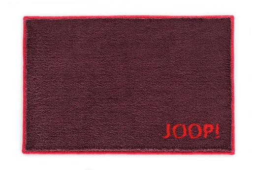 BADTEPPICH  Bordeaux, Dunkelrot, Rot  50/60 cm - Bordeaux/Rot, Basics, Kunststoff/Textil (50/60cm) - Joop!