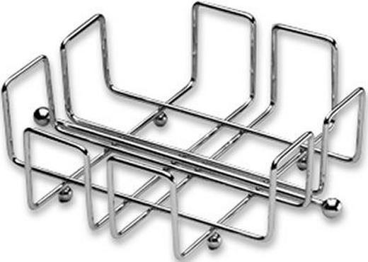 SERVIETTENHALTER  Metall   18,5/18,5 cm - Basics, Metall (18,5/18,5cm) - Justinus
