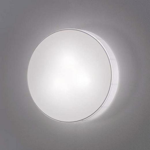 DECKENLEUCHTE - Weiß, Design, Textil/Metall (70/13cm)