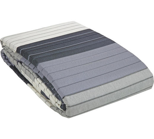 TAGESDECKE 220/240 cm - Schwarz/Weiß, Design, Textil (220/240cm) - Novel