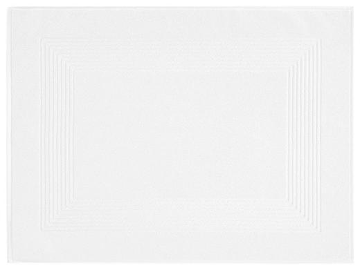 BADEMATTE  Weiß  50/70 cm - Weiß, Basics, Textil (50/70cm) - Vossen