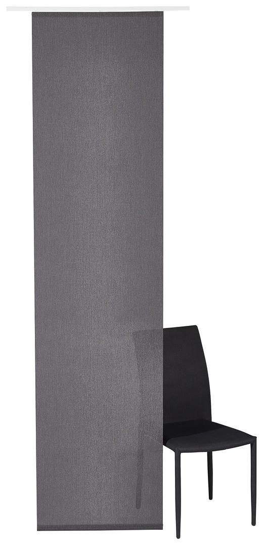 FLÄCHENVORHANG   halbtransparent   60/245 cm - Grau, Basics, Textil (60/245cm) - Novel