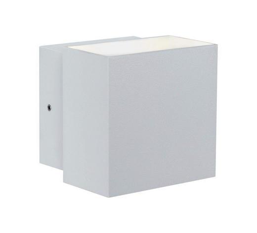LED-WANDLEUCHTE - Weiß, Basics, Metall (10/9,3/10cm)