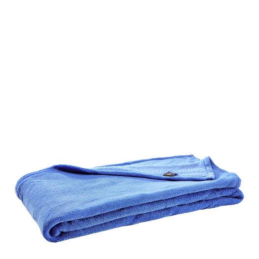 WOHNDECKE 140/190 cm Blau - Blau, KONVENTIONELL, Textil (140/190cm) - Novel