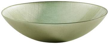 SCHALE Glas  - Grün, Basics, Glas (33/9,5cm) - Novel
