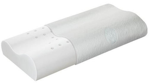 NACKENKISSEN Doppeltuch Kaltschaum - Weiß, Basics, Textil (71/35/12cm) - SCHLARAFFIA