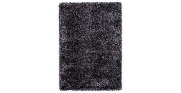 WEBTEPPICH  65/130 cm  Grau, Schwarz - Schwarz/Grau, LIFESTYLE, Textil (65/130cm) - Novel
