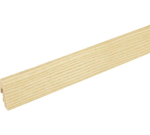 SOCKELLEISTE Eschefarben  - Eschefarben, Basics, Holz (240/1.9/3.85cm) - Homeware