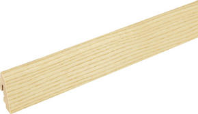 SOCKELLIST - askfärgad, Basics, trä (240/1.9/3.85cm)