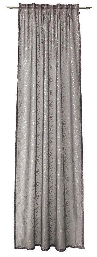 VORHANGSCHAL    140/250 cm - Braun, Design, Textil (140/250cm) - Joop!