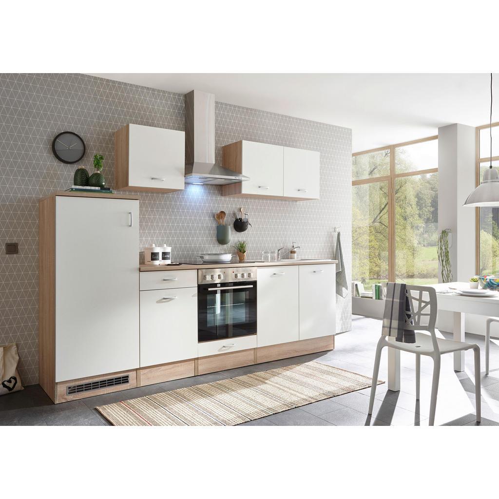 Xora Küchenblock in weiß e-geräte