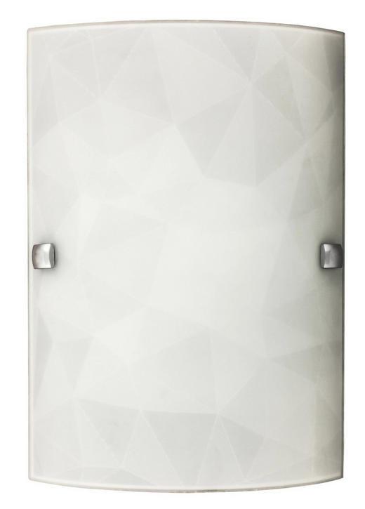 STENSKA SVETILKA IZZIE, 3266 - Konvencionalno, kovina/steklo (18/26cm)