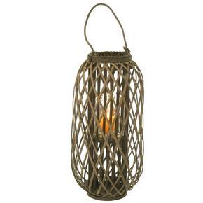 LJUSLYKTA - grå/naturfärgad, Lifestyle, trä (30/84cm)