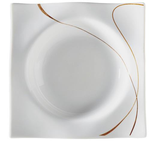 SUPPENTELLER - Braun/Weiß, Design, Keramik (22cm) - Ritzenhoff Breker