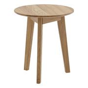 BEISTELLTISCH in Holz  50/57 cm  - Eichefarben, KONVENTIONELL, Holz (50/57cm) - Escando Natürlich Wo