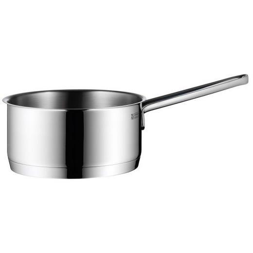 STIELKASSEROLLE 1,5 L - Edelstahlfarben, Design, Metall (16cm) - WMF
