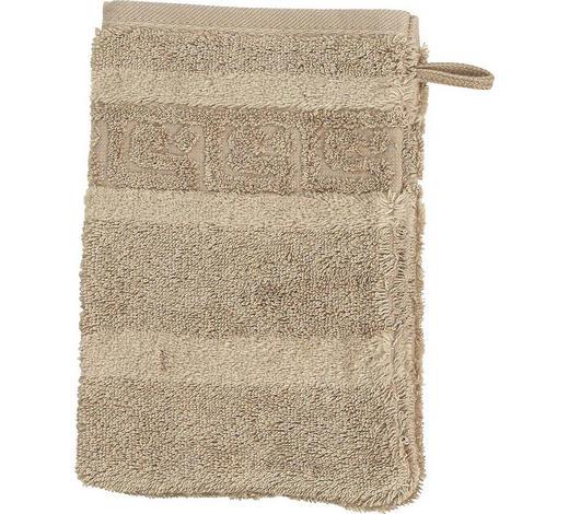 WASCHHANDSCHUH - Sandfarben, Basics, Textil (16/22cm) - Cawoe