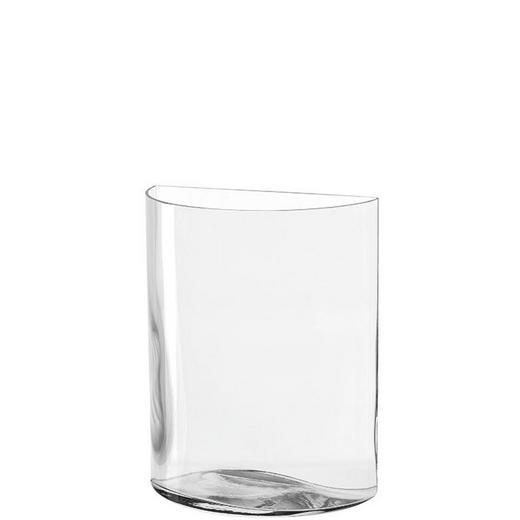 VASE - Transparent, KONVENTIONELL, Glas (20/23,4cm) - Leonardo